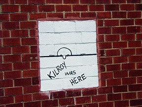 WWII Kilroy Was Here Sightings