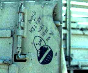 WWII Kilroy Was Here Sightings Kuwait Gulf War