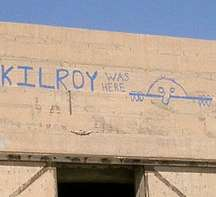 kilroy is watching you