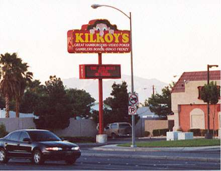 WWII Kilroy Was Here Sightings Las Vegas