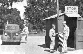 WWII Kilroy Was Here Marianna Main Gate 1945