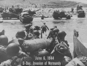 D-DAY. INVASION OF NORMANDY