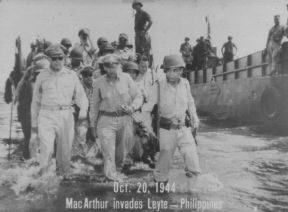 the war accomplishments of general douglas macarthur in the philippines